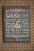 Rules Bathroom B