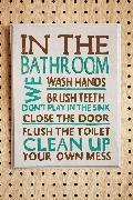 Rules Bathroom C