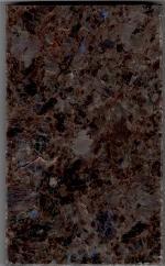 ラブラドールアンティーク 優しい茶色に青く光る石が上品です