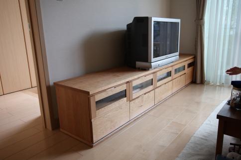 カバ桜TVボード