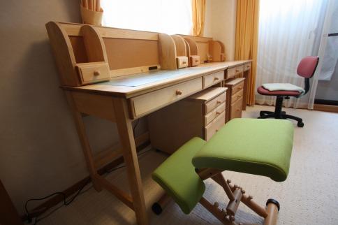 カバ桜学習机