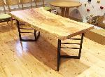 栃 一枚板テーブル