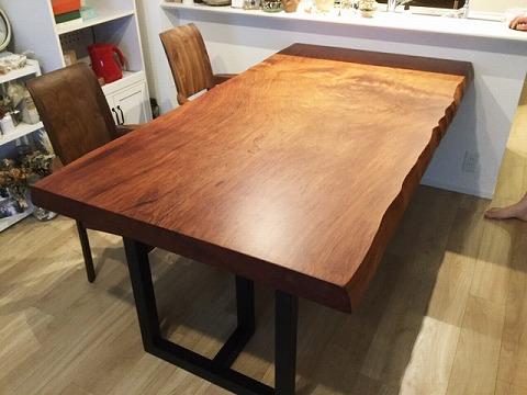 レッドウッド 一枚板テーブル