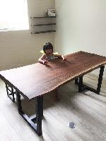 一枚板テーブル 一枚板ベンチ ウォールナット
