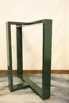 1枚板座卓用 オリジナルアイアンB脚 国産L0018
