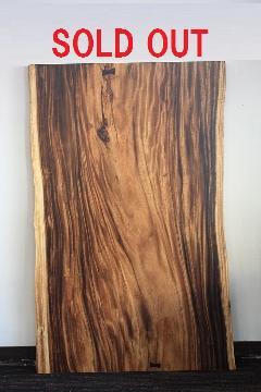 1枚板天板 (モンキーポッド)T0115