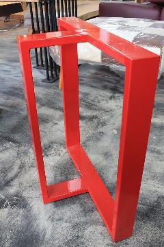 一枚板テーブル用 オリジナルアイアン 調色B脚 国産L0023