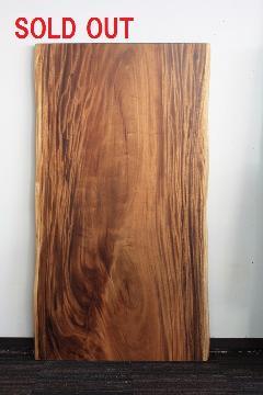 1枚板天板 (モンキーポッド)T0114