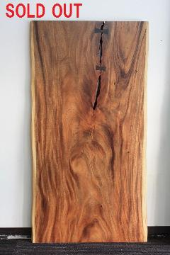 1枚板天板 (モンキーポッド)T0112