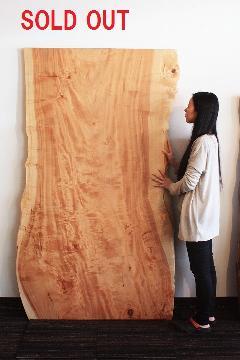 一枚板天板(栃)T0166