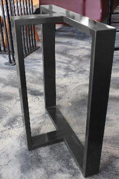 一枚板テーブル・座卓兼用調色B脚 アイアンT型  NS-LT0005
