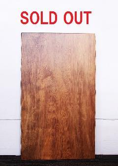 一枚板天板 (レッドウッド)T0076