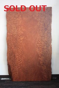 一枚板天板 (レッドウッド)T0119