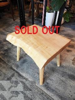 一枚板 ローテーブル (栃)T0298U