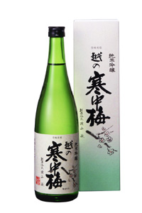 越の寒中梅 純米吟醸 720ml