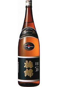 梅錦 純米原酒 酒一筋 1.8L