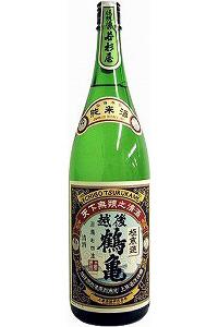 越後鶴亀 純米酒 1.8L