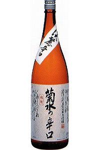 菊水の辛口 本醸造 1.8L