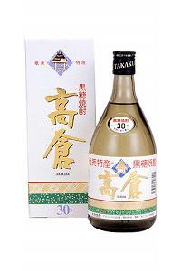 高倉 黒糖30度 720ml