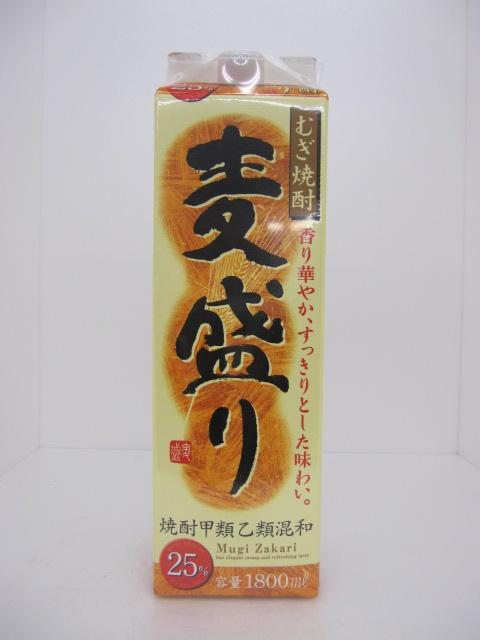 麦盛り 麦 25度 1.8L