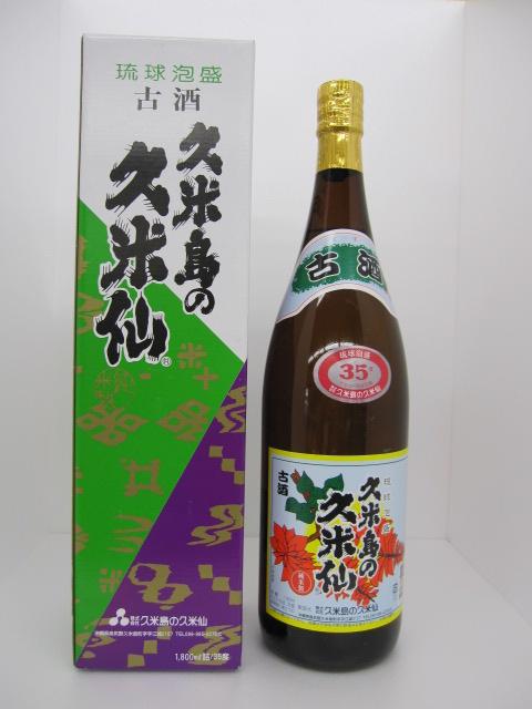 久米島の久米泉 泡盛 35度 1.8L