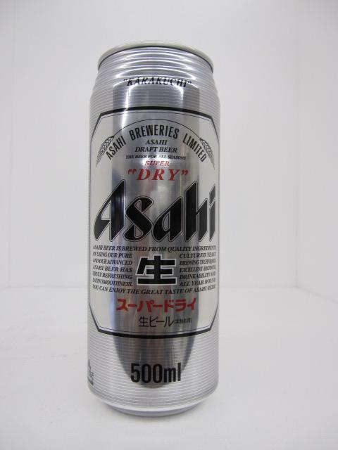 アサヒ スーパードライ 500ml 24本入