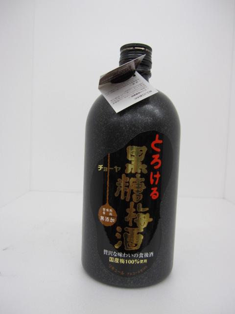 チョーヤ梅酒 黒糖梅酒 720ml