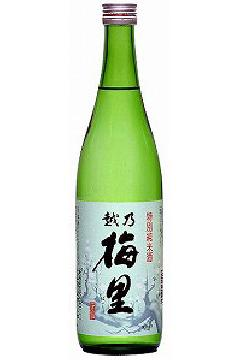 越乃梅里 特別純米酒 720ml