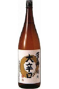 澤乃井 純米酒 大辛口 1.8L