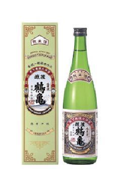 越後鶴亀 純米酒 720ml