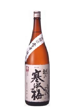 越の寒中梅 特別本醸造 1.8L