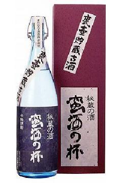 蛮酒の杯 かめ貯蔵古酒 芋25度 1.8L