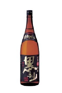 黒泉山 麦25度 1.8L