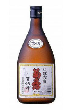 菊之露 古酒  泡盛25度 720ml