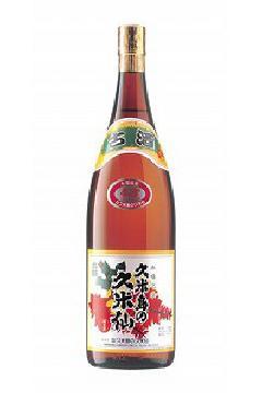 久米島の久米仙 でいご古酒  泡盛43度 1.8L