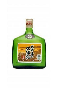 久米島の久米仙 グリーン  泡盛30度 720ml
