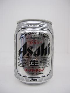 アサヒ スーパードライ 250ml 24本入