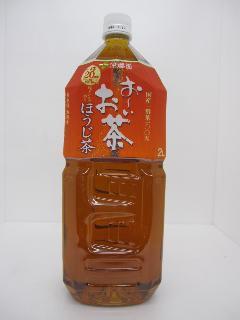 伊藤園 おーいお茶 ほうじ茶 2L 6本入