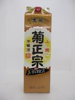 上撰 菊正宗 本醸造 パック 1.8L