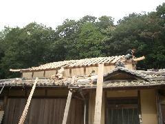 屋根瓦葺き替え工事 洲本市N様邸