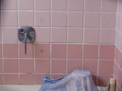 浴槽用手摺工事 洲本市 E様邸