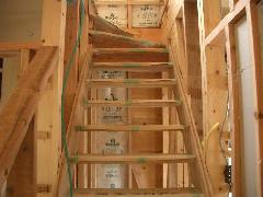 階段施工工事 洲本市 W様邸