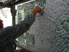 神奈川県横浜市 個人邸外壁タイル工事