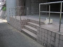 神奈川県横浜市 外部床洗浄工事