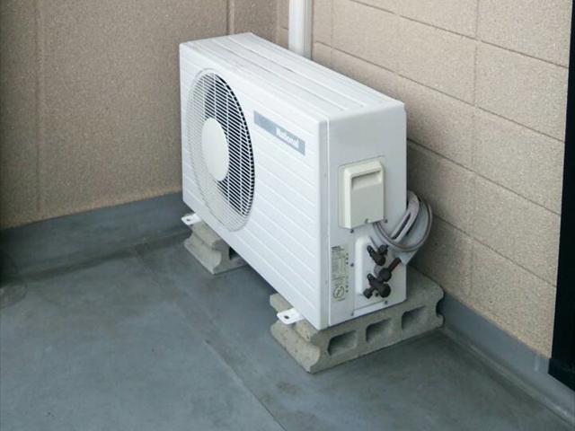 エアコン室外機設置