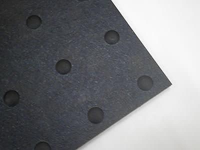 凹凸のあるリサイクルゴムシート Rec10