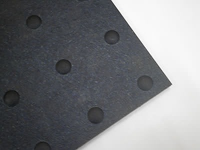 凹凸のあるリサイクルゴムシート Rec15