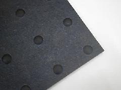 凹凸のあるリサイクルゴムシート Rec05