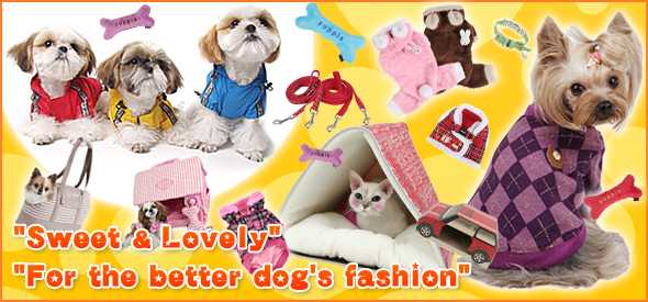 """Sweet & Lovely""""For the better dog's fashion"""