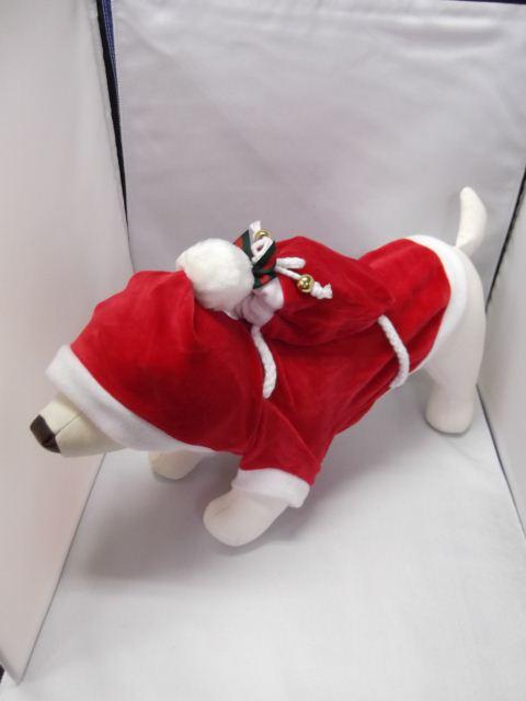 サンタクロース フード・小袋付  サイズ S・M・L・XL